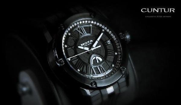 Moya Cuntur automatique blackdiamonds, automatique avec réserve de marche, limitée à 100 ex.