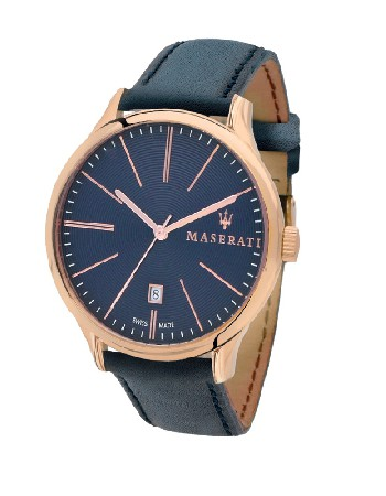 Montre Maserati Swiss Made avec mouvement Ronda<br />