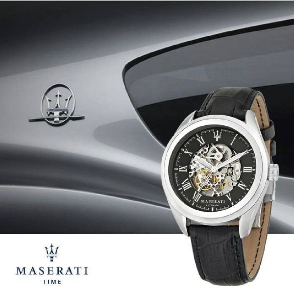 Maserati Uhren skeleton
